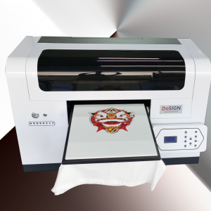 A3 Size 2 heads T-shirt Textile Printer