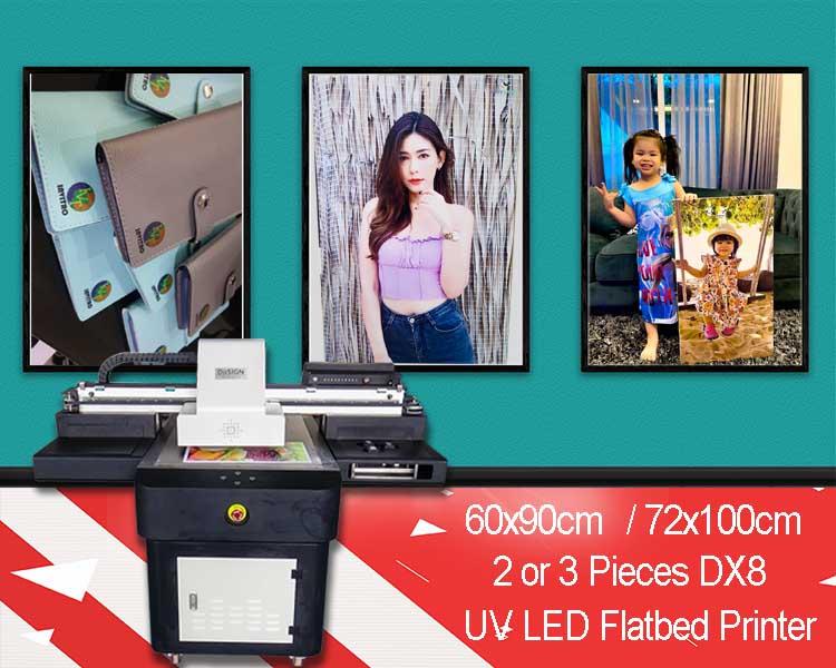 6090 UV Flatbed Printer overview